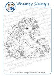 I love the sweet images drawn by Crissy Armstrong the talented designer for Whimsy Stamps. So many utterly adorable images, available both as rubber stamps and in digital format through Whimsy Stamps in the US.
