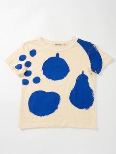 big fruits t-shirt bobo choses kids clothes Kids Shorts, Mode Outfits, Baby Design, Mode Inspiration, Fashion Kids, Kind Mode, Baby Wearing, Kids Wear, Fashion Prints