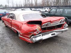 www.layitlow.com Crying Shame, Worst Day, Chevy Impala, Car Crash, Car Humor, Old Cars, Cars And Motorcycles, Antique Cars, Classic Cars