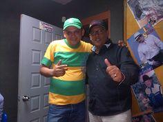compartiendo con Esteban Perez en su visita a @llanerisima1065 FM