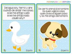 Fichas de adivinanzas de animales para niños Learning Spanish, Kids Learning, Math For Kids, Activities For Kids, Kawaii Disney, Schools First, Exercise For Kids, Diy And Crafts, Homeschool