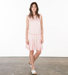 Pink Irene Dress - https://alletteboutique.com/products/pink-irene-brooklyn-made-nursing-dress