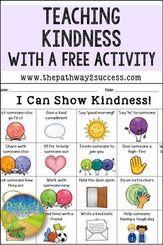 Social Skills 559150109988926433 - Teaching kindness is always important! It's one of the most foundational social skills that we can teach children and teens. Use this post to learn about how to teach kindness with a free activity. Teaching Kindness, Kindness Activities, Learning Activities, Preschool Activities, Kids Learning, Emotions Activities, Social Skills Activities, Teaching Social Skills, Preschool Classroom Rules