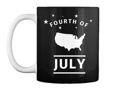 Fourth Of July Limited Edition Black T-Shirt Front