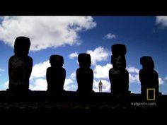 End of Easter Island. National Geographic video, 2:41. Moai on platform (ahu). Rapa Nui (Easter Island). c. 1100–1600 C.E. Volcanic tuff figures on basalt base.