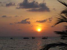 Sundown, Maldives