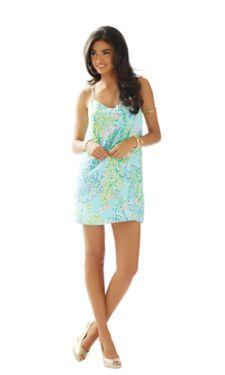 Dusk Strappy Silk Slip Dress - Lilly Pulitzer