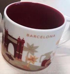 Barcelona   YOU ARE HERE SERIES   Starbucks City Mugs