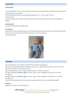 Aperçu du fichier PDF aa-little-makana. Knitting Dolls Clothes, Crochet Doll Clothes, Knitted Doll Patterns, Knitted Dolls, Doll Toys, Baby Dolls, Vintage Knitting, Knit Crochet, About Me Blog