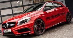Mcchip-dkr Mercedes A45 AMG with 450HP