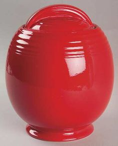 Hall Chinese Red cookie jar