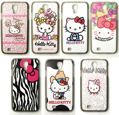 Hello Kitty Bow Fashion Cute Hard Case for Samsung Galaxy S4 Screen Protector | eBay