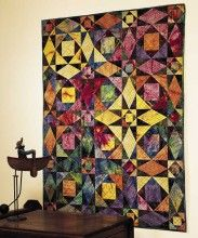 Storm at Sea quilt from the Best of Fons & Porter: Star Quilts!