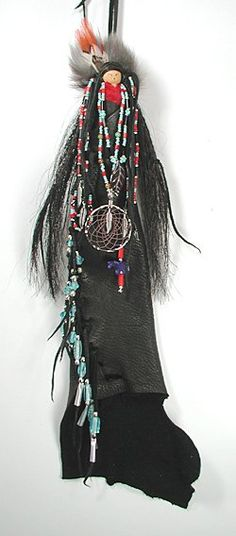 Native American Apache Grandmother Shaman Spirit Doll