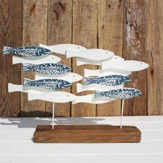 Wooden Fish Shoal
