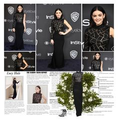 """Lucy Hale."" by albacampbell on Polyvore featuring Sia, Pier 1 Imports, Christian Siriano and Stuart Weitzman"
