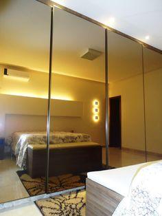 Espelho bronze armario