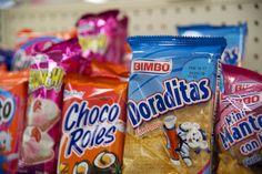 7.-Ley de la escalera Adémas de ser vendida los productos en cualquier tiendita, o supermercado, BIMBO cuenta con su propia tienda exclusiva de productos.