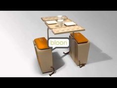 Dutch designer Jeriël Bobbe designed Springtime--a portable picnic set that unfolds into a table and two chairs--because he loved eating outside, but couldn't get comfortable sitting on the ground.