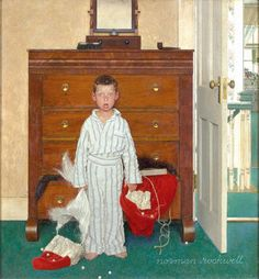 Norman Rockwell, The Discovery