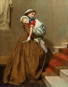 James Hayllar (english, 1829-1920) - Miss Lily's Return from the Ball
