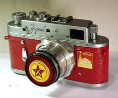 1963 Made in USSR ZORKI-4 camera rare Russian LEICA