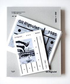 """build-built-built: """"Les Graphiquants / Gil Rigoulet / Molitor été 1985 / Book / 2015 """""""