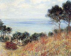 La côte de Varengeville (C Monet - W 729),1882.