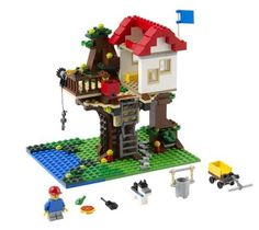 LEGO 31010 Creator Exclusives Treehouse. Check out our 4.76% promotion off retail price!  Enjoy a further $10 discount if you self collect your purchase! Delivery within Singapore. LEGO® is a trademark of The LEGO Group of companies. Chucklingbaby.com is independent of The LEGO Group. All the product images are copyright of The LEGO Group.