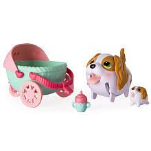 Chubby Puppies and Friends King Charles Spaniel Puppy Stroller
