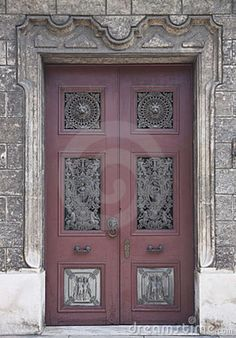 old dutch doors | Old Wooden Door With Decorations Stock Image - Image 19959341 & wood windows | Wood Design Ideas: Latest kerala model Wooden ... pezcame.com