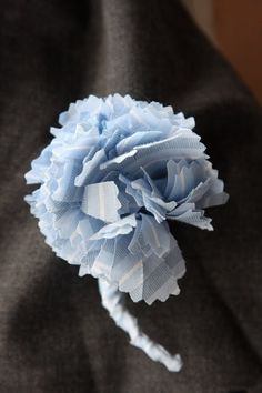 Patterns fai da te fiori in tessuto e un corpetto garofano fai da te Fatto Da shirt in tessuto - Chic Sottrae