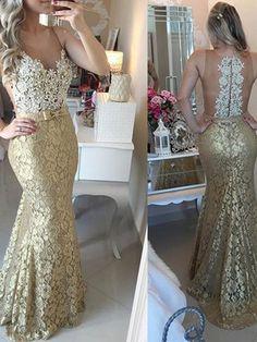 Trumpet/Mermaid+Scoop+Floor-length+Tulle+Prom+Dresses/Evening+Dresses+#SP7255