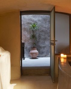 Zannos Melathron Hotel    Santorini, Greece  Spa treatments use local ingredients, including the antioxidant grapes found around the island. #Jetsetter #JSVolcano #JSSpa