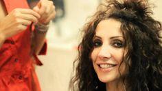 Olga Lounová - nové vlasy v salonu Afroditi