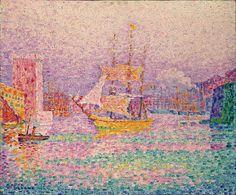 Paul Signac - The Harbour at Marseilles
