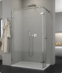Portes et parois de douche MELIA - MED Bathroom Hooks, Bathtub, Mirror, Design, Products, Shower Screen, Bath, Puertas, Standing Bath