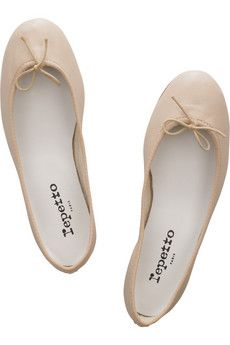 REPETTO BB leather ballet flats