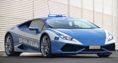 Lamborghini Delivers A Second Huracan To The Italian Polizia