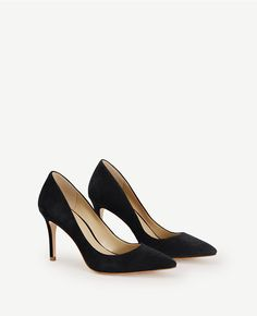 Apparently one of the most comfortable stilettos Mila Suede Pumps Ann Taylor