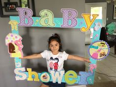 #baby #babyshower #frame #backdrop #pastels #readytopop #picture  #pictureframe