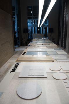 Mixing table #Cevisama16  Mesa de combinaciones #Cevisama16