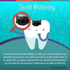 Teeth whitening is paramount to getting a healthy, gorgeous smile. Learn how professional in-office teeth bleaching procedures can transform your smile Zoom Teeth Whitening, Teeth Whitening Procedure, Natural Teeth Whitening, Cosmetic Dentistry Procedures, Dental Procedures, Dental Design, Tooth Sensitivity, Dental Veneers, Smile Dental