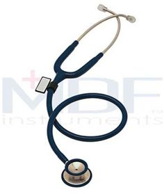 MDF Instruments MD One Stainless Steel Dual Head Stethoscope MDF777 Constructed from acoustically-superior stainless steel, the MDF Instruments MD One Stethoscope delivers accurate auscultation of heart, lung, and Korotkoff sounds with acoustic integrity and clarity. An ergonomic design ensures comfort for the doctor and patient, even during extended use. The MD One is a premier diagnostic instrument with unmatched performance, durability, and aesthetics.    Chest piece: The handcrafted…