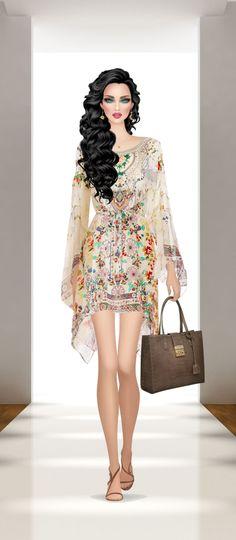 Weenie Dogs, Covet Fashion Games, Stylish Outfits, Divas, Peplum Dress, Asia, Sketches, Glamour, Women's Fashion