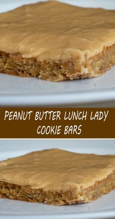 Peanut Butter Cookie Bars, Peanut Butter Desserts, Cookie Desserts, Easy Desserts, Delicious Desserts, Yummy Food, Sweets Recipes, Brownie Recipes, Baking Recipes