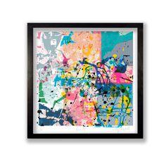Abstract Paint Fine Art Print from notonthehighstreet.com