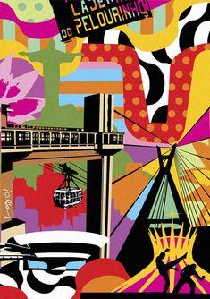 Artwork by Brazilian Pop Artist Lobo, inspired in BRAZIL | LOBO | POP ART  www.lobopopart.com.br #brazil #brasil