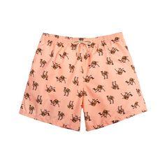 Peach camels swim short /  bañador camellos color melocoton