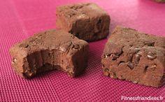 Brownies sans cuisson aux protéines de whey bio